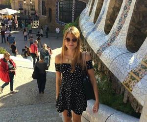 Barcelona, explore, and happy image