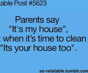 funny, parents, and house image