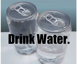 drink, water, and fitspo image