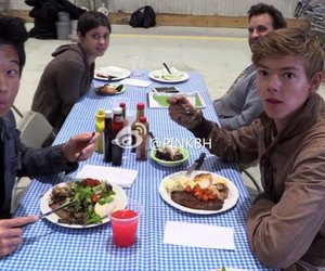 the maze runner, thomas brodie sangster, and scorch trials image