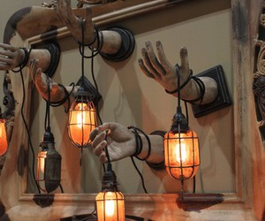 creepy, decoration, and hands image