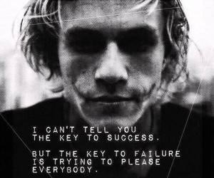 quote, success, and batman image