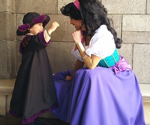 disney, esmeralda, and customs image