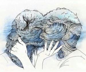 love, art, and kiss image