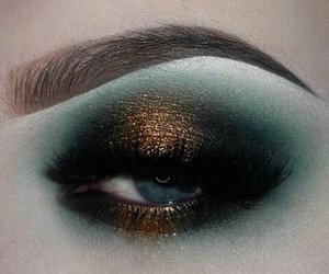 cosmetics, sparkle, and eyebrows image