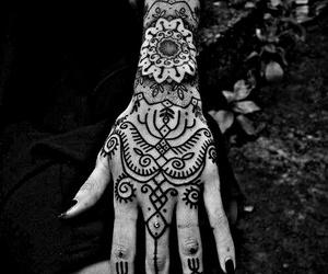 black and white, tattoo, and Tattoos image