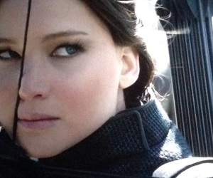 bow, katniss, and hunger games image