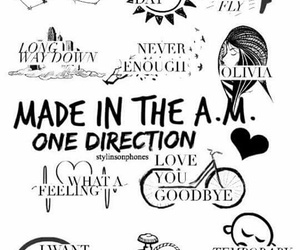 one direction, made in the am, and 1d image
