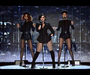 performing, ddlovato, and night image