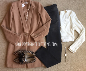 camel, chic, and cozy image