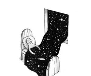 stars, sleep, and night image