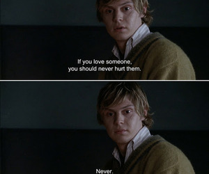 love, tate, and american horror story image