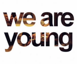 young, text, and quote image