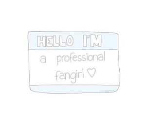 fangirl, overlay, and edit image