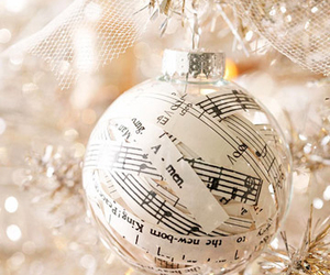 christmas, music, and decoration image