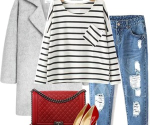 chic, fall, and fashion image