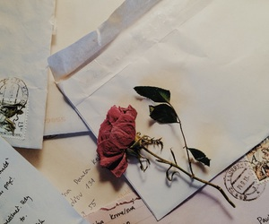Letter, writing, and lovely image