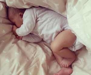 bed, boy, and cuteness image