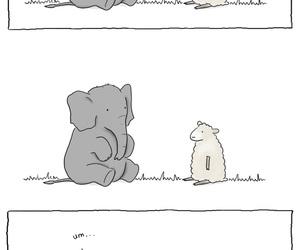 elephant, funny, and liz climo image