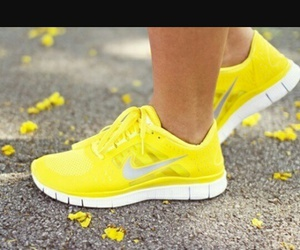 nike, yellow, and cute image