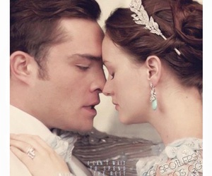 gossip girl, blair and chuck, and love image