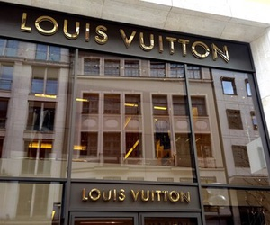 Louis Vuitton, shop, and store image