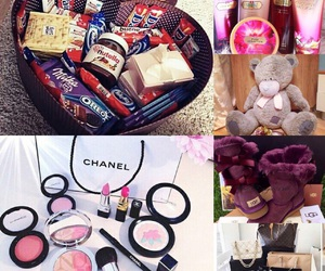 bags, chanel, and make-up image