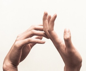hands, minimalistic, and minimalism image