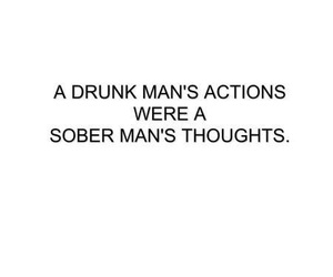 drunk and quote image