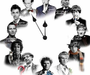 doctor who, clock, and david tennant image