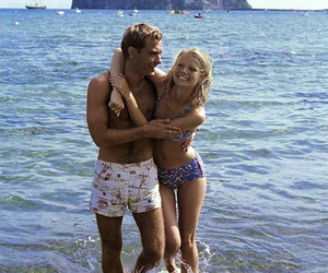 jude law, couple, and summer image