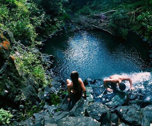 summer, paradise, and water image