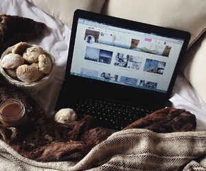 autumn, bed, and Cookies image