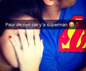 couple, superman, and rebeux image