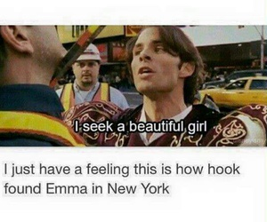 funny, once upon a time, and captain hook image