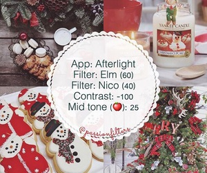 christmas, filter, and filters image