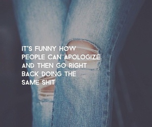 apologize, grunge, and quotes image