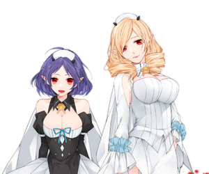 anime, owari no seraph, and girls image