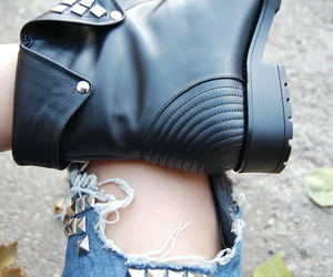 boots, leather, and romania image