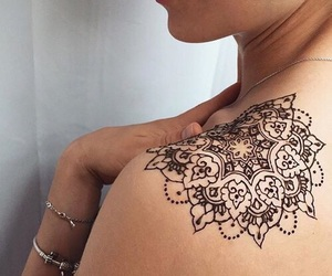 tattoo, henna, and cool image