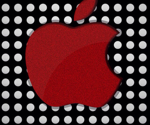 apple and wallpaper image