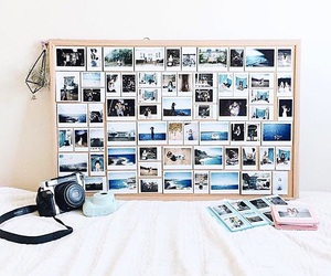 picture, polaroid, and room image