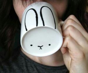 bunny, mugs, and diy image