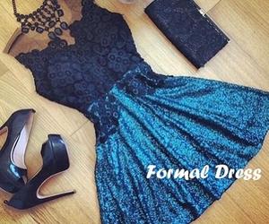 dress, dresses, and prom dress image