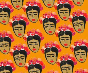 Frida, pattern, and méxico image