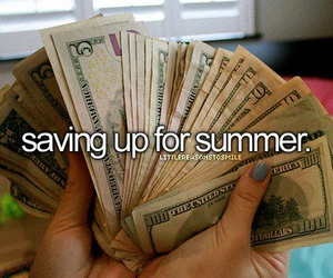 money and summer image