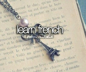 french, bucket list, and learn image