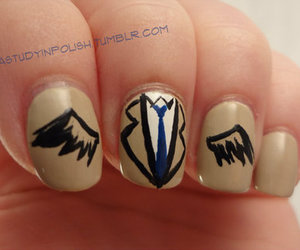 supernatural, castiel, and nails image