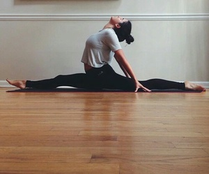 split, dance, and fitness image