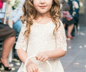 blond, blonde, and lace dress image